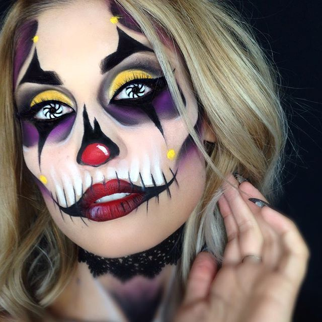 best 25 jester makeup ideas on pinterest halloween makeup halloween makeup artist and makeup. Black Bedroom Furniture Sets. Home Design Ideas