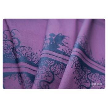 Natibaby Elves graphit/pink cotton/wool30% - A Portée des Coeurs