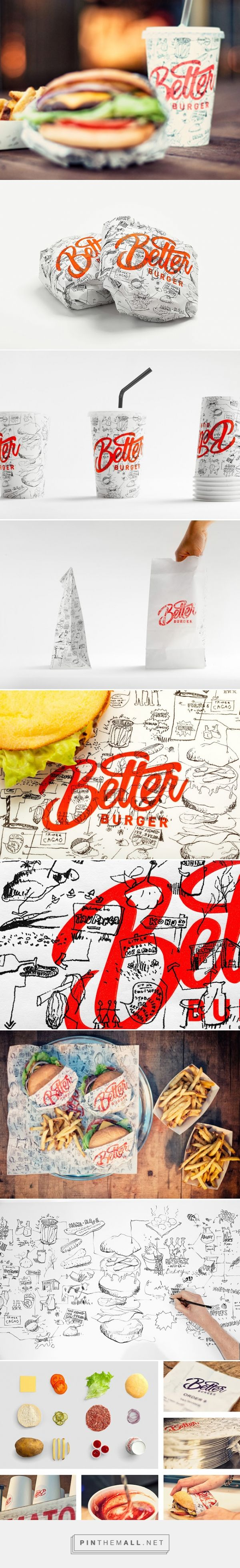 Better Burger packaging branding via Packaging of the World curated by Packaging Diva PD. Looks pretty tasty to me : )