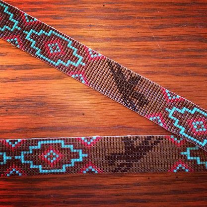 eclectic beadwork find them on bead loom