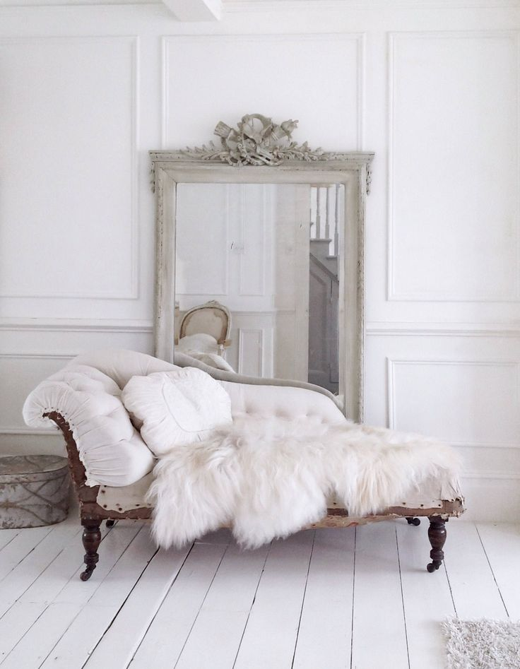Stunning antique French chaise Deconstructed and ready
