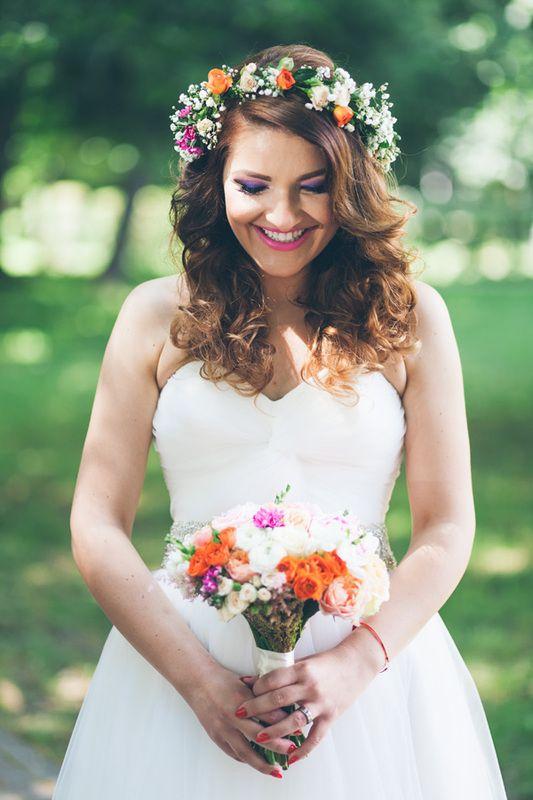 bride, wedding bouquet, mireasa