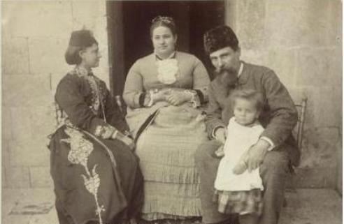 Antakya, 1883 (Antakyalı Hırıstiyan bir aile)