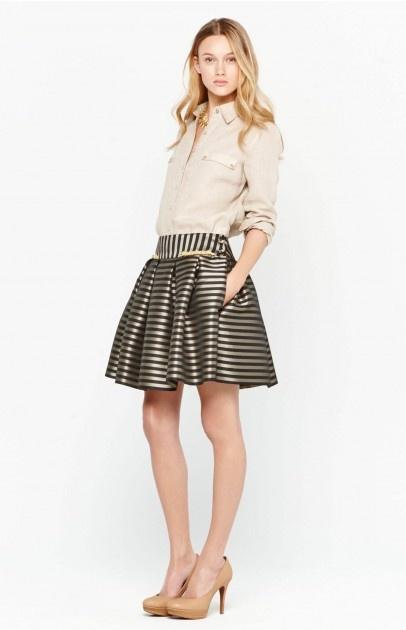 9 best images about faldas on pinterest skirt vintage - Rayas horizontales ...