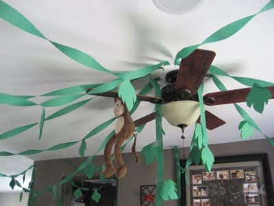 Create a jungle-theme party like this blogger did - and it with the help of party decorations from Old Time Pottery!  http://www.oldtimepottery.com/