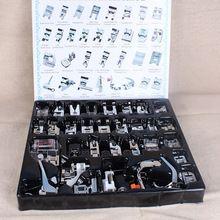 Лучшая Цена 32 шт. Внутренние Швейные Машины Прижимную Лапку Ноги Kit Набор С Коробкой Для Brother Singer Janom(China (Mainland))