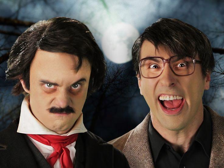 Stephen King vs Edgar Allan Poe - Epic Rap Battles of History Season 3! #erb