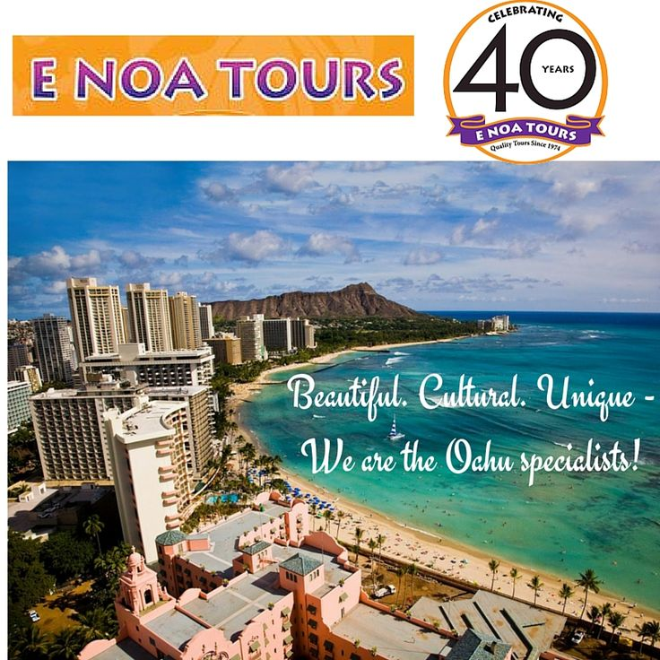 Oahu Tour Specialist E Noa Travel Company We Organize Hawaii Sightseeing Tours Pearl Harbor Ping Diamond Head And North S Adventure