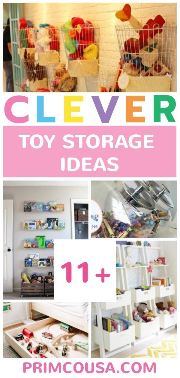 19 unique toy storage ideas for kid s playroom bedroom small rh pinterest com