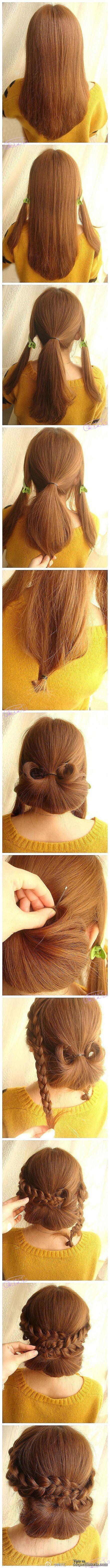 Peinados paso a paso para estar siempre guapisimas  20 peinados muy bien explicados, que pueden ir genial para en cualquier ocasión poder ir bien a... Ver mas: http://www.mejorhistoria.com/peinados-paso-a-paso-ocasiones/