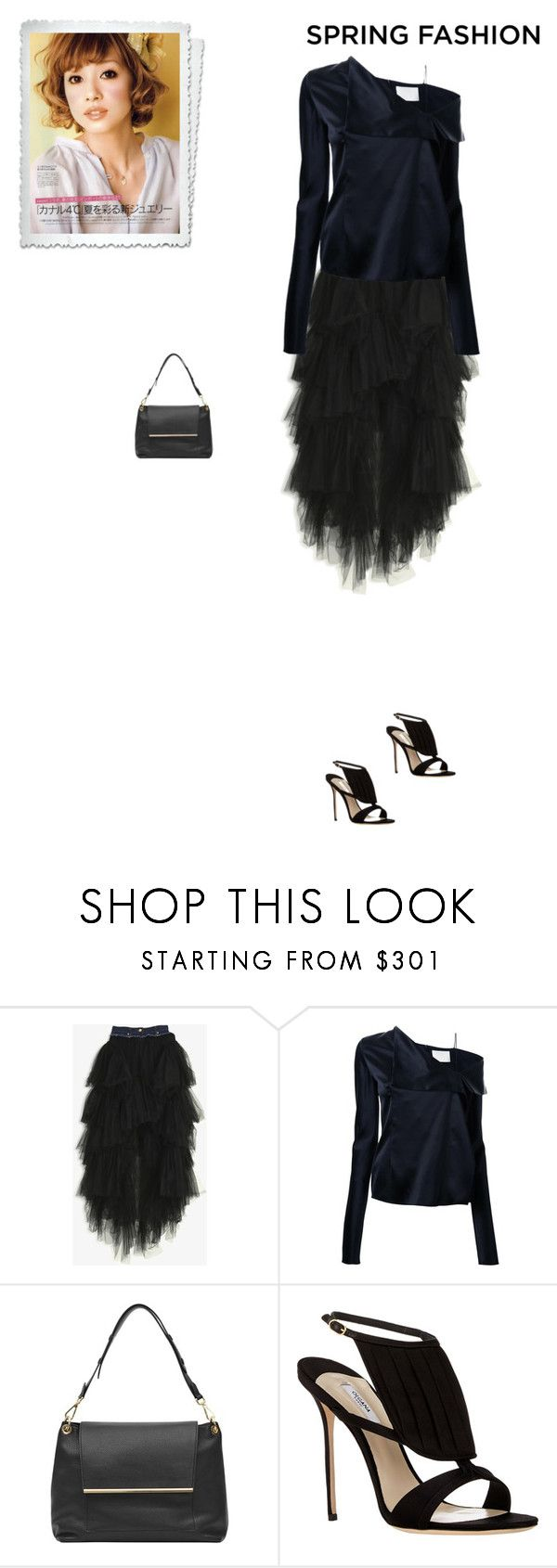 """""""Unbenannt #7487"""" by pretty-girl-in-fashion ❤ liked on Polyvore featuring Natasha Zinko, Dion Lee, Reiss, Olgana, springfashion, dionlee, reiss, natashazinko and olgana"""