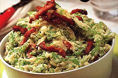 Andijvie Stamppot (green endive hash w bacon)