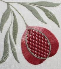 Love Stitch!: Crewelwork Pomegranate - June 9th 2013 - BOOK NOW