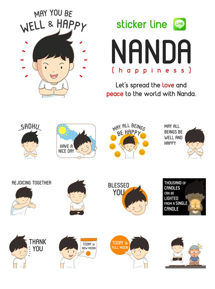 Sticker for LINE  (English Version) http://line.me/S/sticker/1234257  (Indonesia Version) http://line.me/S/sticker/1224479
