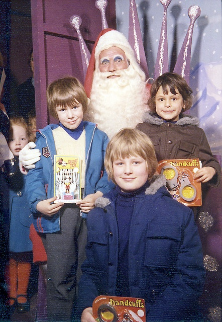 Santa in 1973.  There is something very wrong with this Santa.
