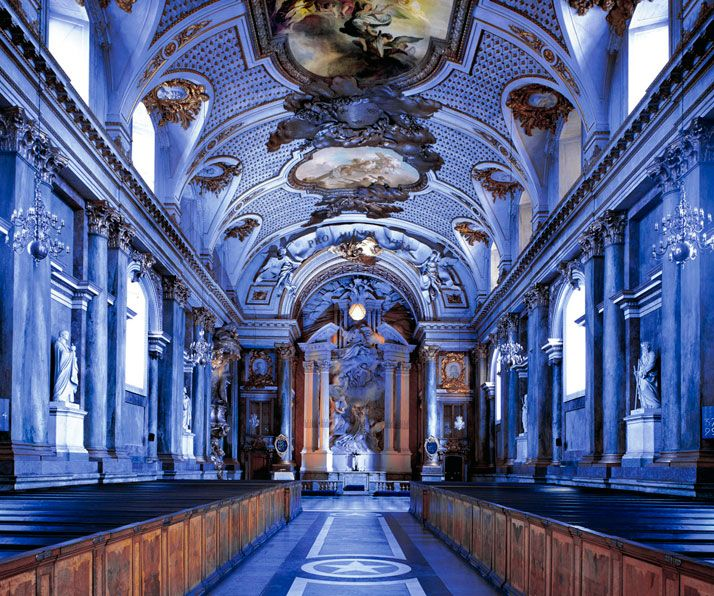 Palazzo Reale I, Stockholm, 1998 | by Massimo Listri ... makes me feel like painting frescos in the Bathroom ;)