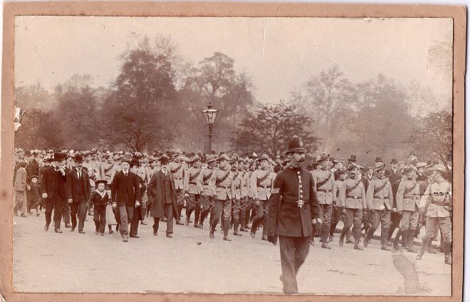 Boer War Victory Parade, London, 1902