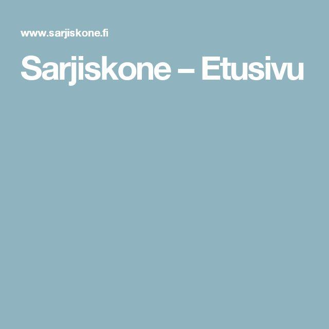 Sarjiskone – Etusivu