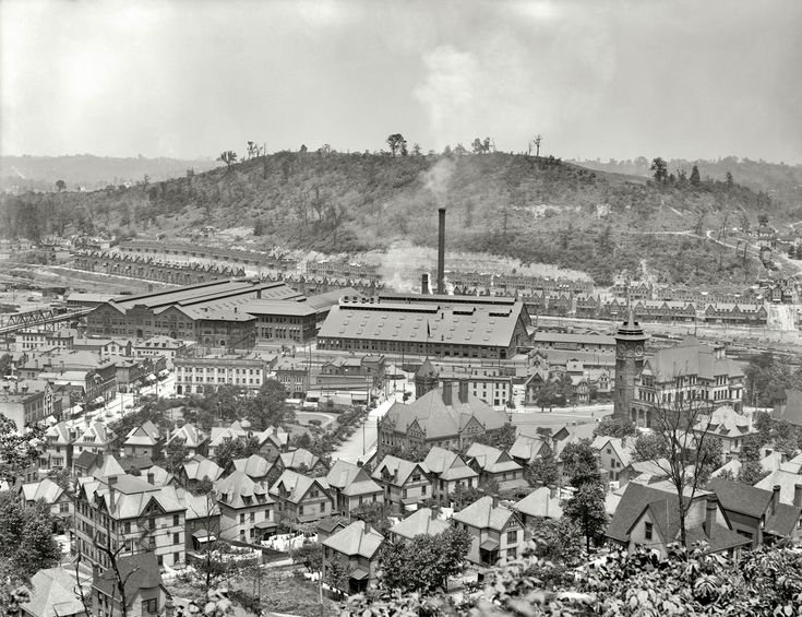 Westinghous Air Brake Co., Turtle Creek Valley, 1905. 17 Vintage Photos of the Steel City of Old - The 412 - January 2014