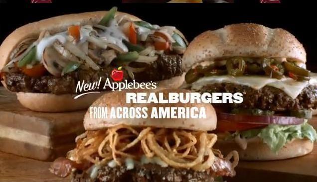 Applebee's Restaurant Copycat Recipes: Real Burgers Across America