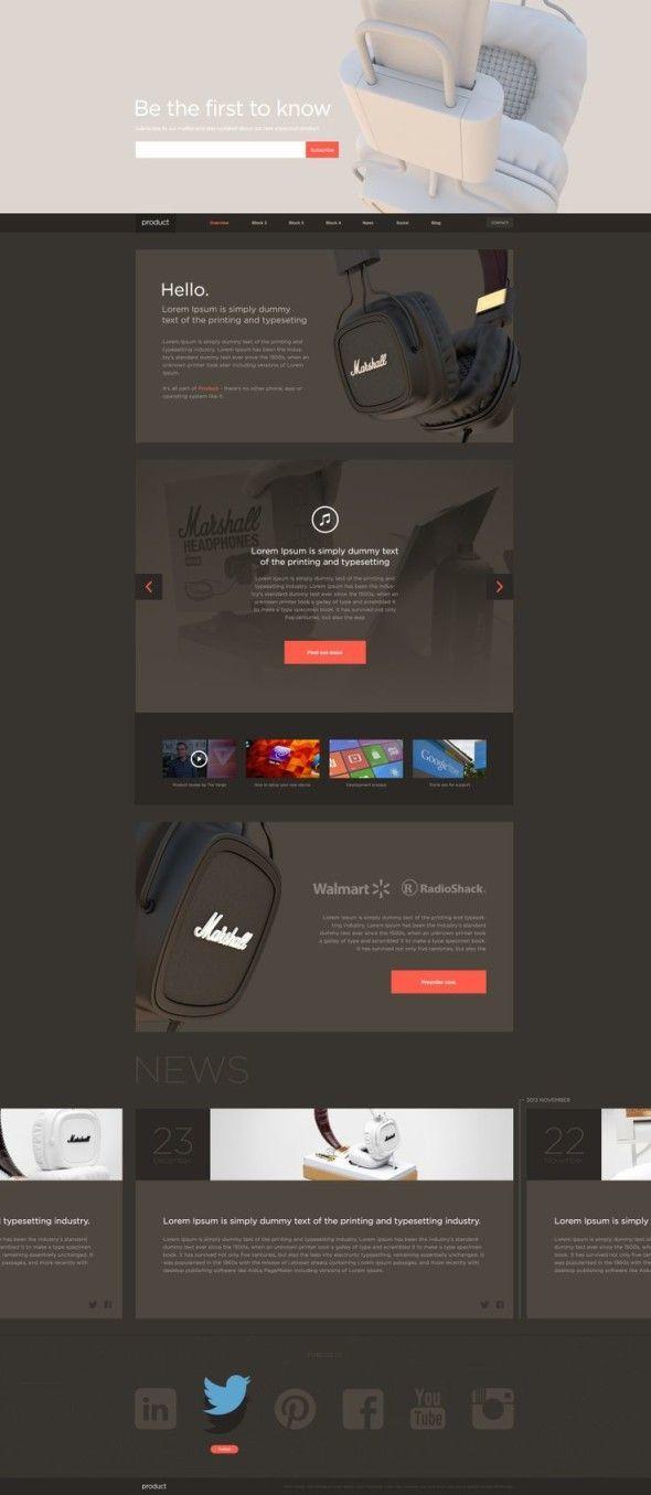 Web design inspiration | #815