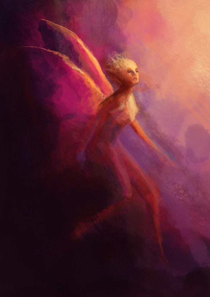 The Color Character, digital illustration, by Maria Janczak  ( www.facebook.com/maria.janczak.artist )