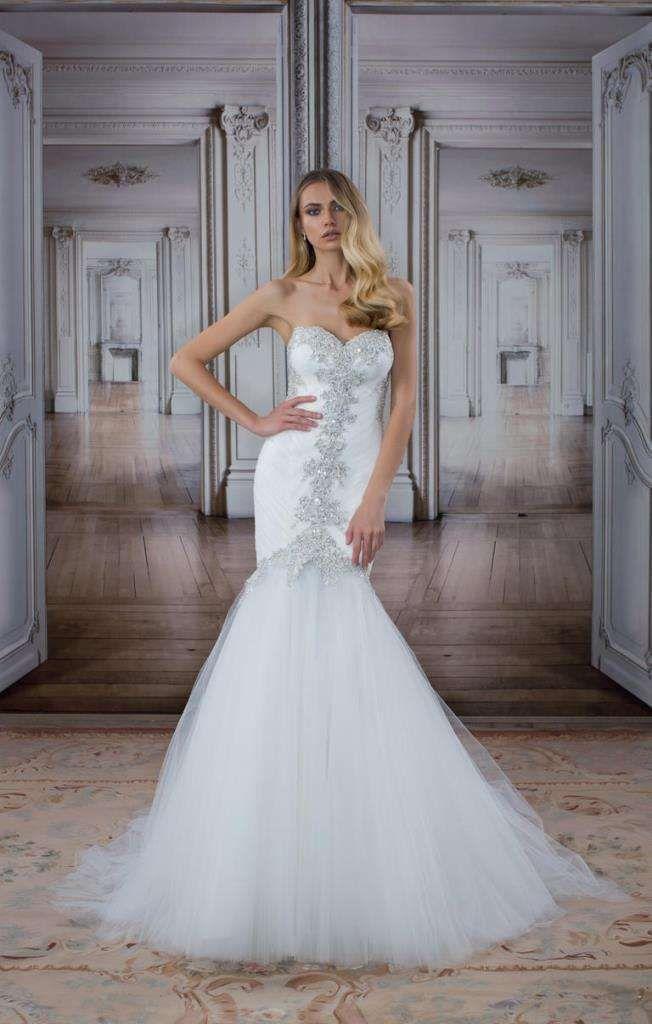 Pnina Tornai abiti da sposa 2017 - Vestito da sposa con cristalli Pnina Tornai