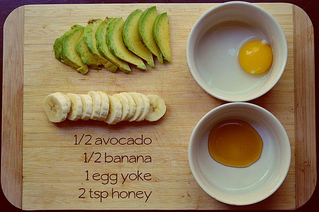 Avocado Banana Face Mask | Learn about easy #homemade #face #masks http://easyhomemadefacemasks.blogspot.com/2012/12/easy-homemade-face-masks-which-actually.html