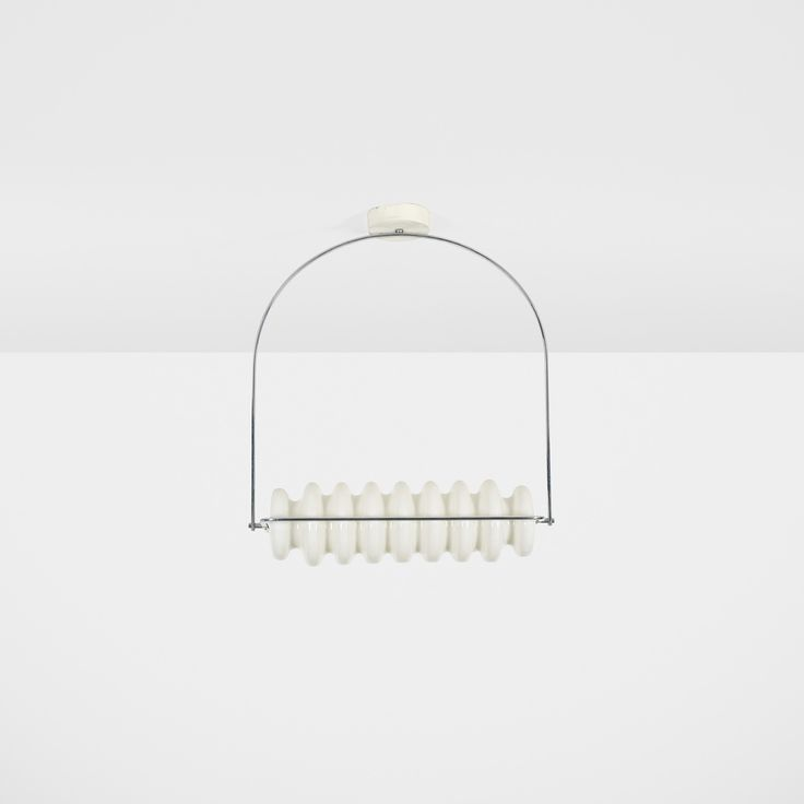 424: Ettore Sottsass / Bruco ceiling lamp from the Mobili Grigi series < Design, 12 June 2014 < Auctions | Wright