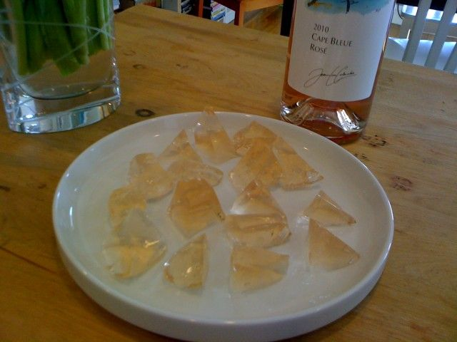 Wine jello shots, oh yeah, I'm making these this summer!