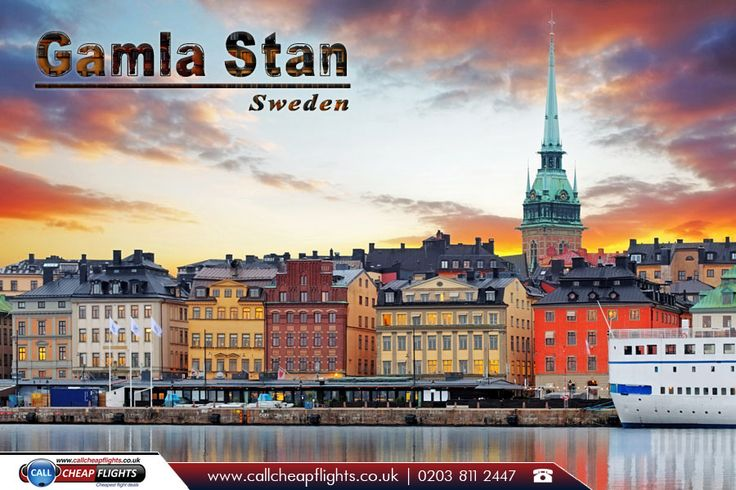 Gamla Stan, Sweden:  |    Gamla stan, until 1980 officially Staden mellan broarna, is the old town of #Stockholm, #Sweden.  |    Source: https://en.wikipedia.org/wiki/Gamla_stan  |    #gamlastan #photo #travelphotography #booknow #bookonline #flightdeals #travel #travelstoke #airfares #travelbug #flights #flightstosweden #worldtravel #ccf #callcheapflights #cheapflightstosweden #travelagents #travelagentsinuk #cheapflights  |    Fly with our #ExclusiveOffers…