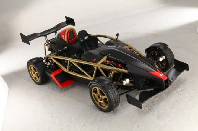If a standard Ariel Atom is a bit, well underwhelming for you, then perhaps a 500bhp light weight, high revving V8 will pique your interest?  The 2012 Ariel Atom  V8 500 earns a bay in my garage (for those rainy days)