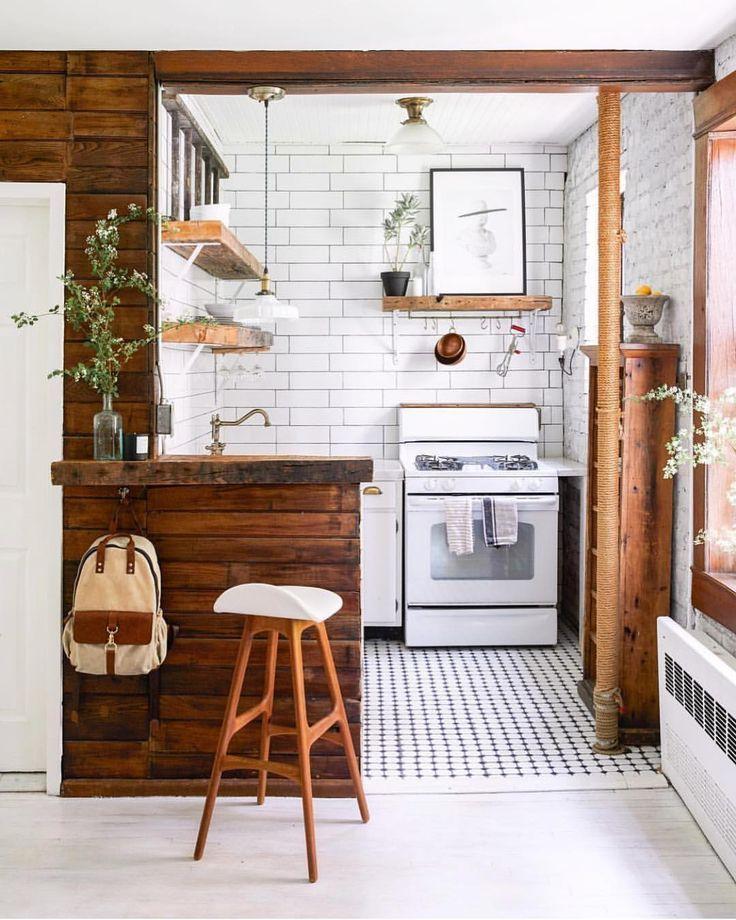 Super Einrichtungsidee für eine sehr kleine Küche | Kleine Küchen ...