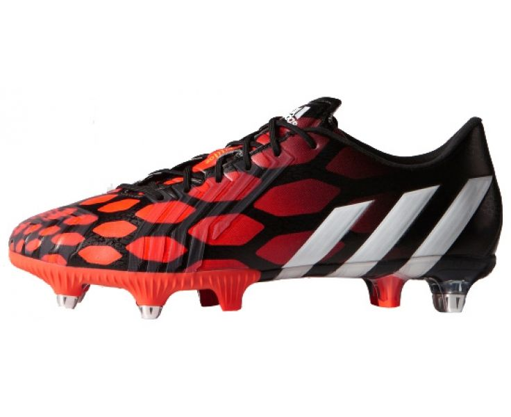 Very popular red Soccer boots.