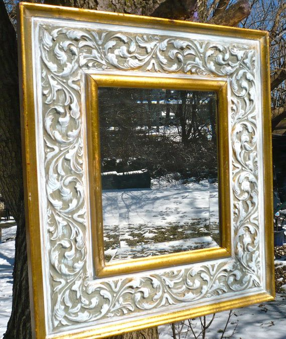 The 512 best Painted Mirrors and frames images on Pinterest ...