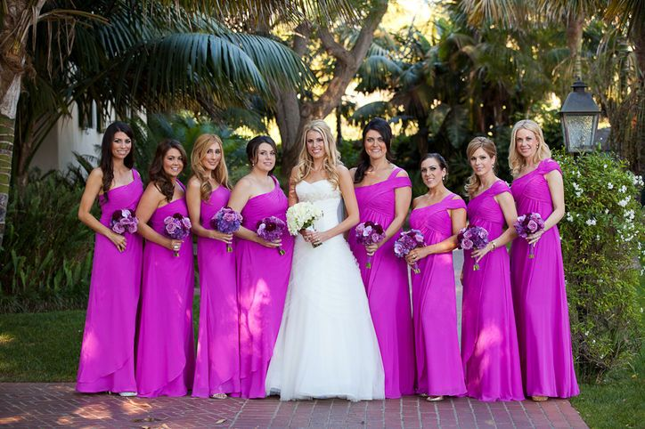 Make Pantone's 2014 Color of the Year, Radiant Orchid, Work for Your Wedding