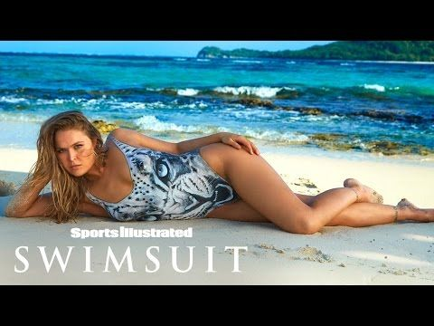 Ronda Rousey Undresses For Body Paint Shoot | Outtakes | Sports Illustrated Swimsuit