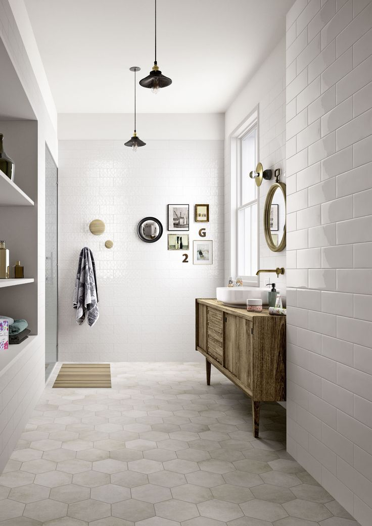 Bathroom tiles: ceramic and porcelain stoneware - Marazzi 6894