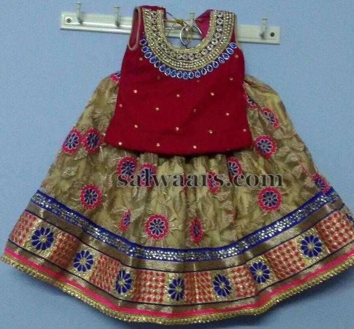 Gold Lehenga Available - Indian Dresses