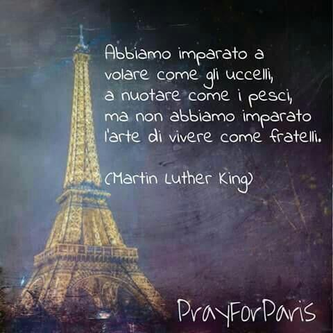 Un pensiero alle vittime di Parigi