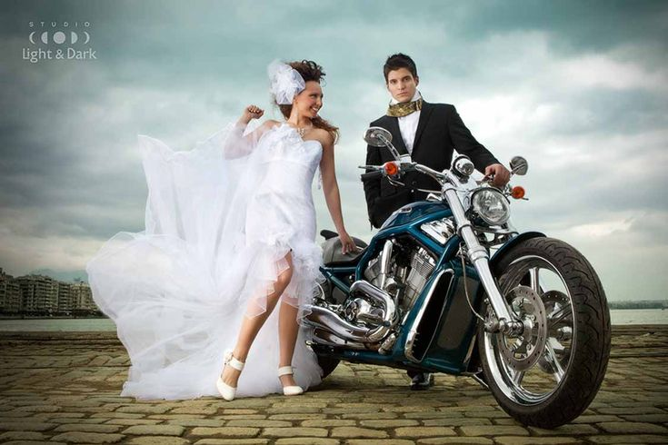 Biker Wedding Dresses Harley Davidson Weddings Dresses Brides Biker