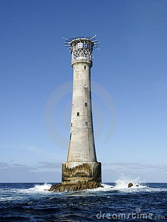 Bishop Rock lighthouse, Isles of Scilly, England