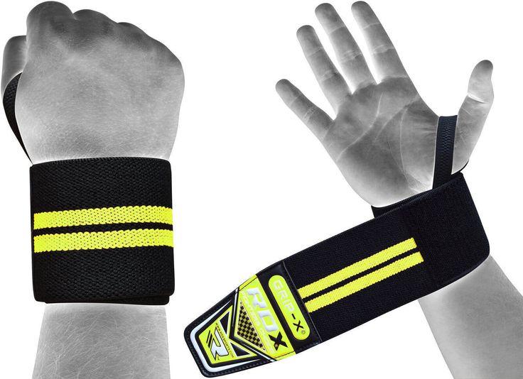 RDX WAH-W3W Pro Weight Lifting Wrist Wraps