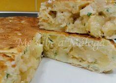 Me sabe a Málaga: Tortilla de bacalao con patatas