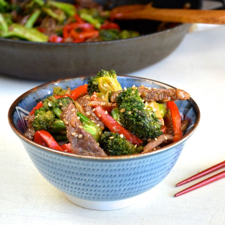 Chinese Food Beef And Brocolli Calories