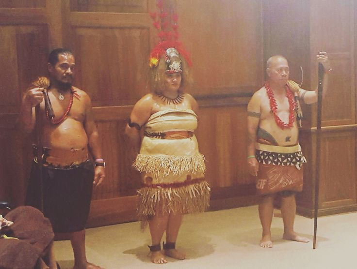 Our cultural presentation at the governors office 2016 #Malofie #Taupou