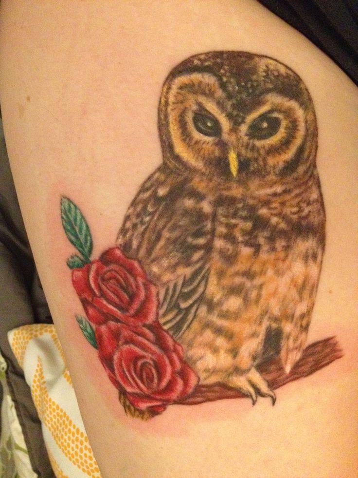 Finally. Owl tattoo