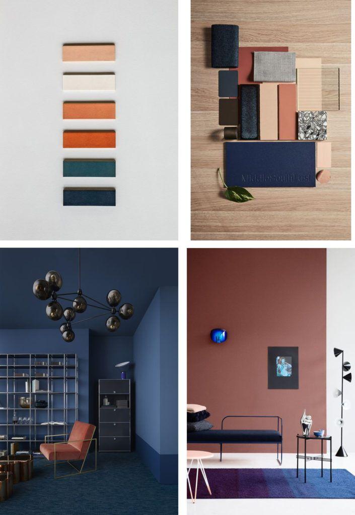 terracotta and blue in interiors bedroom in 2019 interior design rh pinterest com