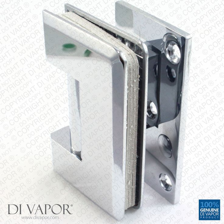 90 degree wall mounted shower door glass hinge chrome plated single sided tapered