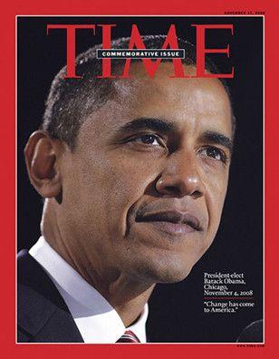 Time Magazine Commemorative Issue: President-elect Barack Obama Collector Magazine